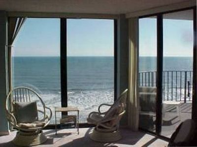 Photo for Direct Oceanfront - Beautiful, Spacious Luxury Penthouse Unit!