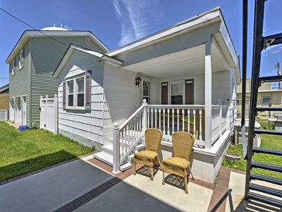 Photo for Cozy Wildwood Cottage - Walk to Beach & Boardwalk!