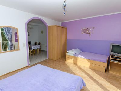 Photo for Paluh Apartments, Purple Apartment Selce