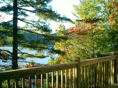 Photo for Romantic Lake Retreat- On beautiful, clear Lake Nantahala
