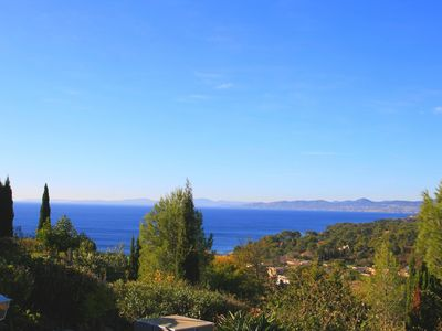 Photo for Bastidon, sea view, for 4 to 6 people