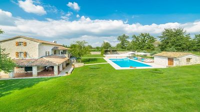 Photo for Enchanting Stone Villa with Private Pool and Beautiful Views to the Istrian Countryside and Sea !
