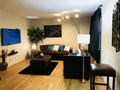 Photo for Cozy Two Bedroom Apartment ~ Close Public Transport!!
