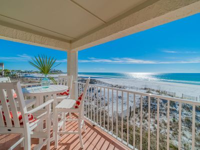 Photo for Paradise30A ~ Eastern Shores 206 ~ Gulf Front, End Unit with Eastern Lake views, 2 bikes included!