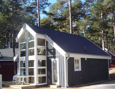 Photo for Family vacation home directly on the Baltic Sea in the dunes, fireplace, Jacuzzi