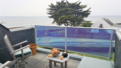 Photo for Large apartment sea view near port & beach