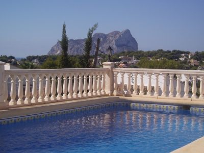 Photo for Detached villa with private pool and panoramic views