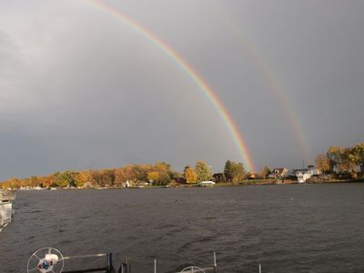 Double Rainbow, afternoon October 14th 2012.