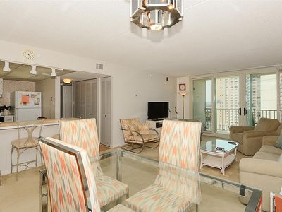 Photo for FREE DAILY ACTIVITIES! LINENS INCLUDED*! Nice 2 BR/2 BA Ocean View Unit in Amenity Building