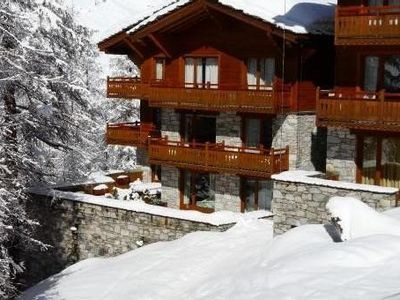 Photo for Luxury Apartment in a chalet in Val D'Isère - 6 persons - Ski-in Ski-out