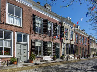Photo for Royal monumental villa right by the harbour in picturesque Goedereede