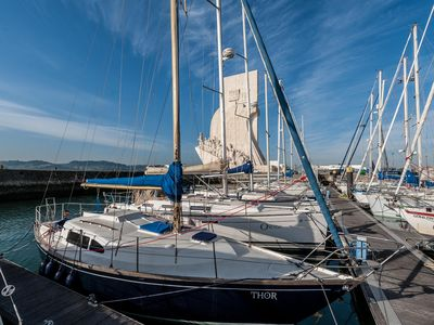 Photo for Get adventurous & stay on a classic sailing boat! FREE Wifi & Parking
