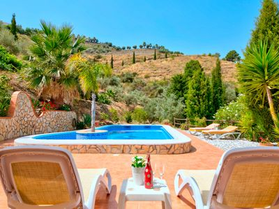 Photo for 3BR Villa Vacation Rental in Cómpeta, M��laga