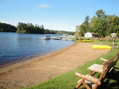 Photo for Sand Beach, Family Friendly with WIFI and Central A/C, On Lake Thompson