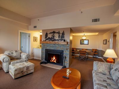 Photo for 2 Bedroom Condo Sitting at the Summit of Sugar Mountain.
