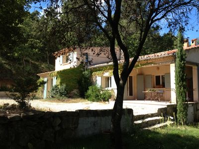Photo for Peaceful and Private in Provence countryside