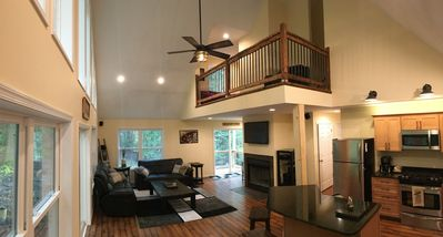 Living Room and Kitchen areas