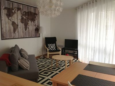 Photo for T3 bright apartment close to beach and city walls. 4/6, Wifi