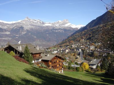 Photo for Spacious studio in chalet in St-Gervais les Bains