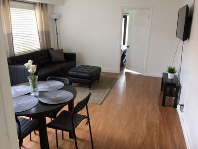 Photo for 2/1 with bonus room close to miracle mile, brickell, beaches,airport