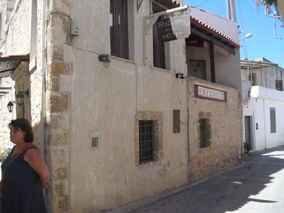 Photo for Bed and Breakfast in the heart of a Cretan village, in a Venetian house