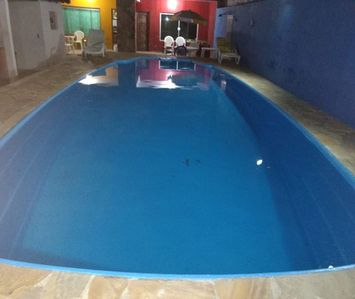 Photo for loco house with pool lit. North