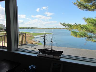 Photo for Waterfront Apartment For 2 Over Looking The Annisquam River
