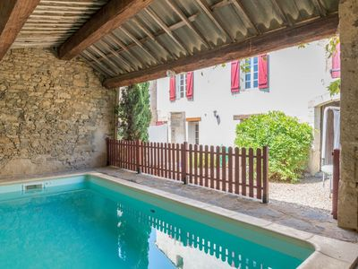 Photo for Lovely apartment for 8 guests with WIFI, private pool