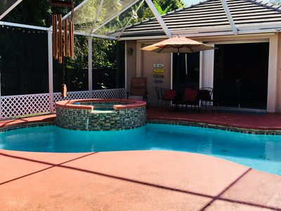 Photo for Private Guesthouse close to beach and PBIA.