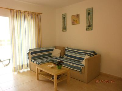 Photo for Lovely 1 bedroom townhouse with pool in Costa Calma, Fuerteventura, near beach.