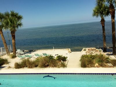 Photo for Beachfront Home w/private pool & hot tub located directly on the Gulf of Mexico