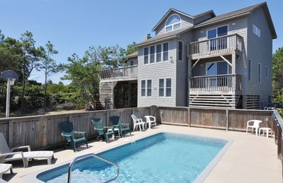 Photo for Joint Venture: Plenty of room for the kids! Oceanside with a private pool.