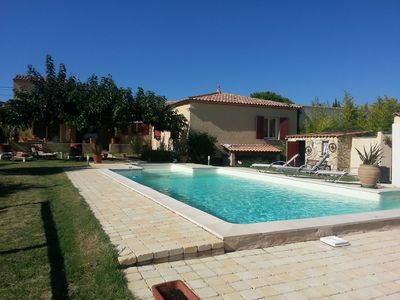 Photo for Villa 8 Pers July August. Private swimming pool in a tourist area.