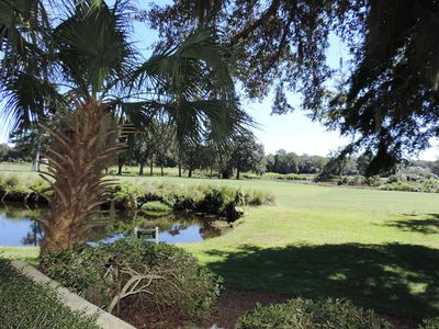 Photo for Lagoon and Golf Course Views!