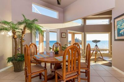 Enjoy all your meals in the dining with a spectacular ocean view
