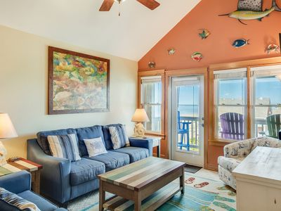 Photo for Look Out: 3 bedroom condo, soundfront with awesome sound and ocean views, community pool.