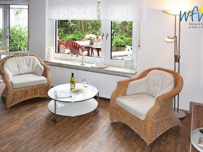 Photo for Comfortable apartment with two separate bedrooms and terrace!
