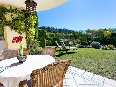 Photo for Beautiful  2 Bedroom Garden Apartment in Los Aqueros Resort