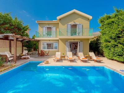 Photo for Beachfront Villa Alexandra with private swimming pool