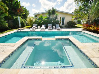 Photo for Resort-Style Backyard w/ Private Pool - 3BR Near Beach & Las Olas Blvd