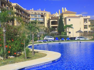 Photo for 2 bed apartment with golf views, La Cala de Mijas