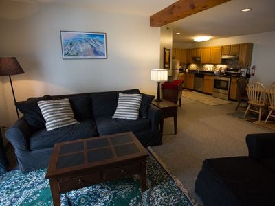 Photo for Ski-In / Ski-Out Slopeside Sunday River Condo with Hot Tub and Outdoor Pool