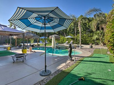 Photo for Luxury Indio Home w/Pool, Volleyball & Mini Golf!
