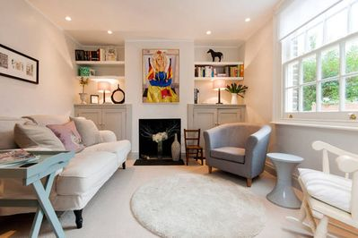 The cottage sitting room