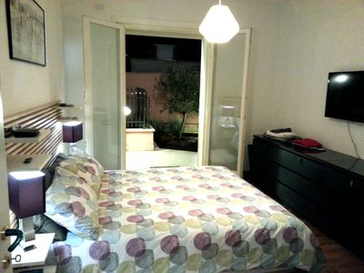 Double Room with view to the garden.