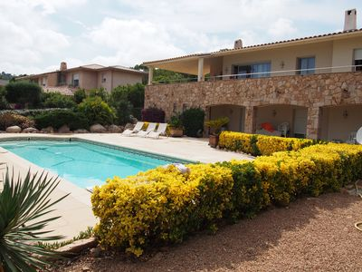 Photo for modern willa at sea side with heated pool and private parking