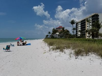 Photo for On the Gulf of Mexico  beach! Sun, sand and surf right outside your door.