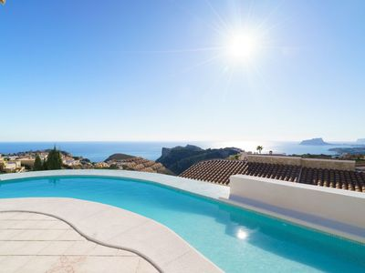 Photo for Vacation home Villa Kalmias in Moraira - 6 persons, 3 bedrooms