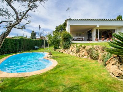 Photo for Costabravaforrent Quimana, cozy villa and beautiful garden in cala montgó