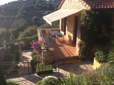 Photo for Charming villa on the heights of Cannes